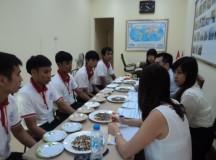 lao động tham gia dự tuyển Đài Loan tại công ty INTERSERC