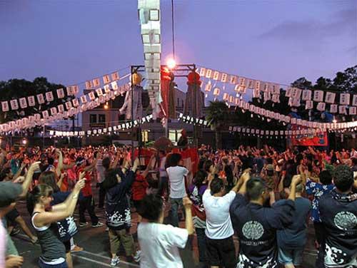 Lễ hội Obon của người Nhật.