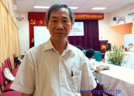 Ông Trần Văn Tư - Trưởng phòng Chính sách KTXH, Ban CSKTXH và Thi đua khen thưởng, Tổng LĐLĐVN