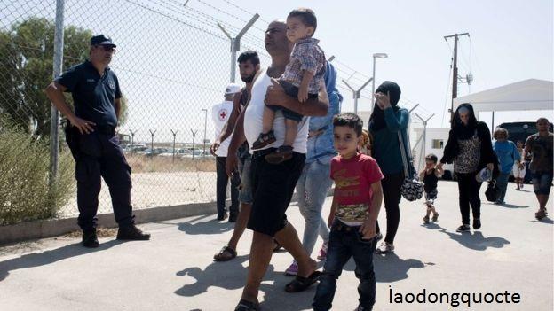 Người tị nạn đang chạy trốn khỏi Syria