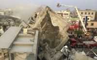 Động đất Đài Loan: ít nhất 3 người chết, nhiều toà nhà đổ sập