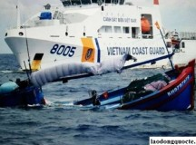 Tàu cá Việt Nam chìm sau khi bị Indonesia bắt giữ