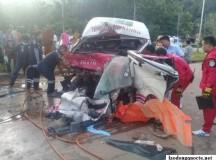 Tai nạn thảm khốc tại Thái Lan, 2 người việt tử vong