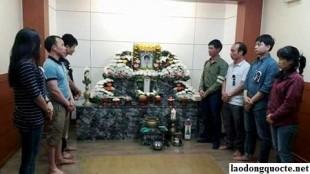 Một lao động người Nghệ An tử vong ở Hàn Quốc