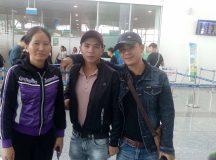 Xuất khẩu lao động Đài Loan : lịch bay ngày 25/10/2017