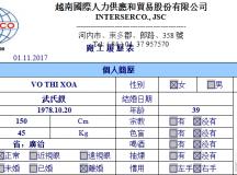 Tuyển đơn hàng giúp việc ngày 24/10/2017