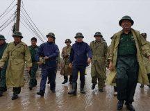 Phó Thủ tướng Trịnh Đình Dũng kiểm tra chống bão tại Sóc Trăng, Bạc Liêu, Cà Mau