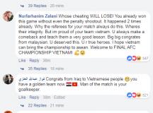 CĐV châu Á mừng phát khóc vì chiến thắng của Việt Nam