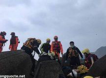Một người Việt mất tích do lật tàu cá ở Đài Loan