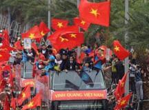 Báo chí quốc tế ấn tượng với màn chào đón U23 Việt Nam tại Hà Nội