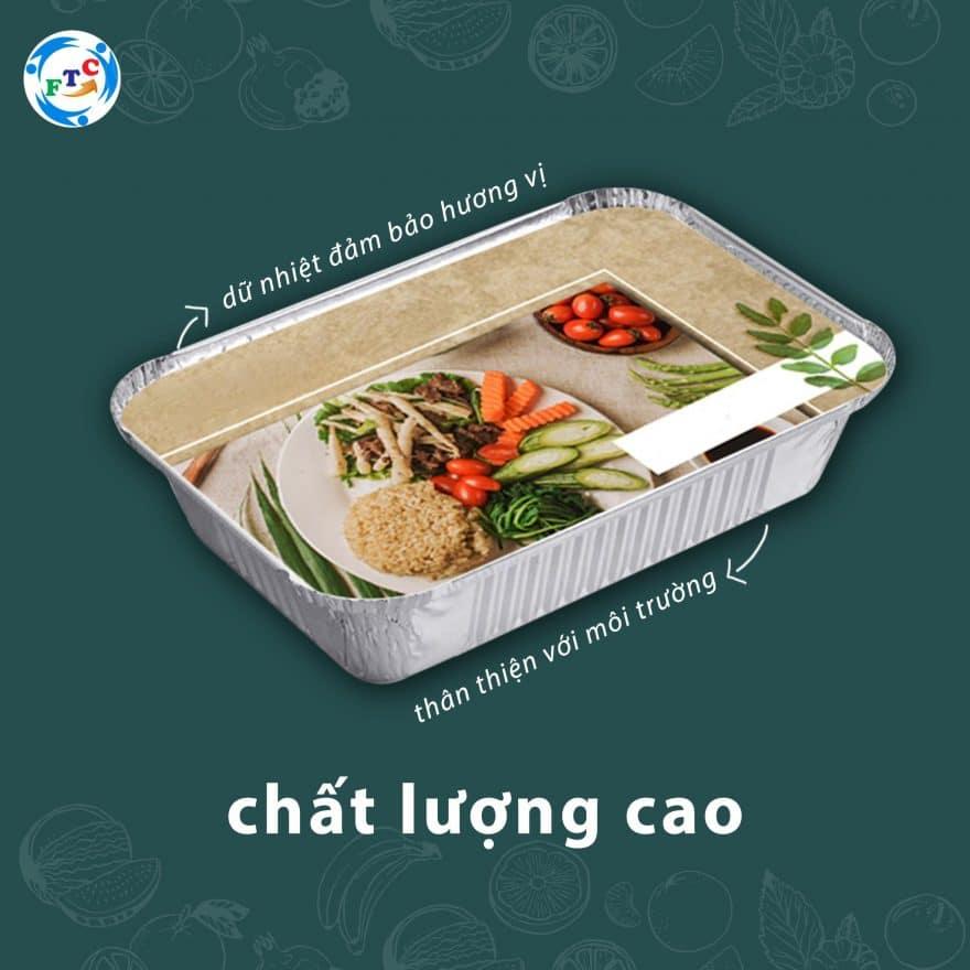 hộp nhôm đựng thực phẩm dùng một lần